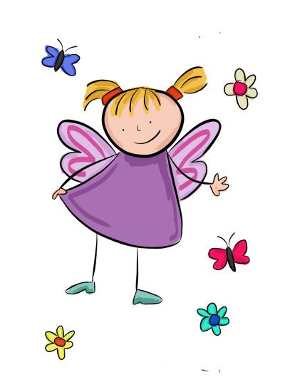 Karla's Parties Cornwall Kids Fairy Illustration