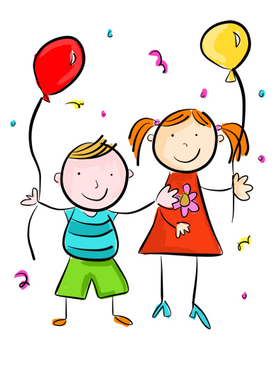 Karla's Parties Cornwall Kids Fun Party Illustration